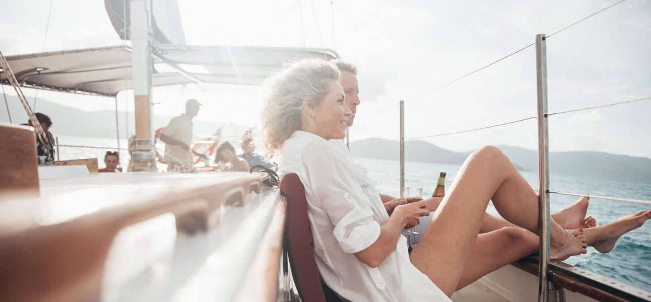 A Whitsunday day cruise especially for couples.